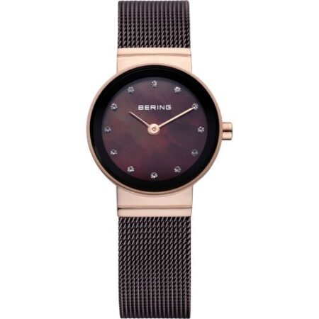 Bering women's Watch Milanese brown 10122-265