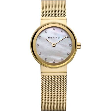 Bering women's Watch Milanese gold 10122-334