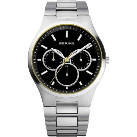 men's Watch Stainless steel silver