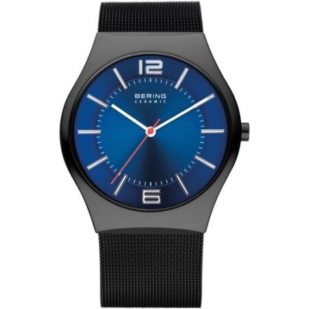 Bering Men's Watch Milanese black 32039-447
