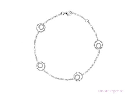 Amore Sterling Silver - 9503SILCZ 'Simply Elegant Bracelet'2